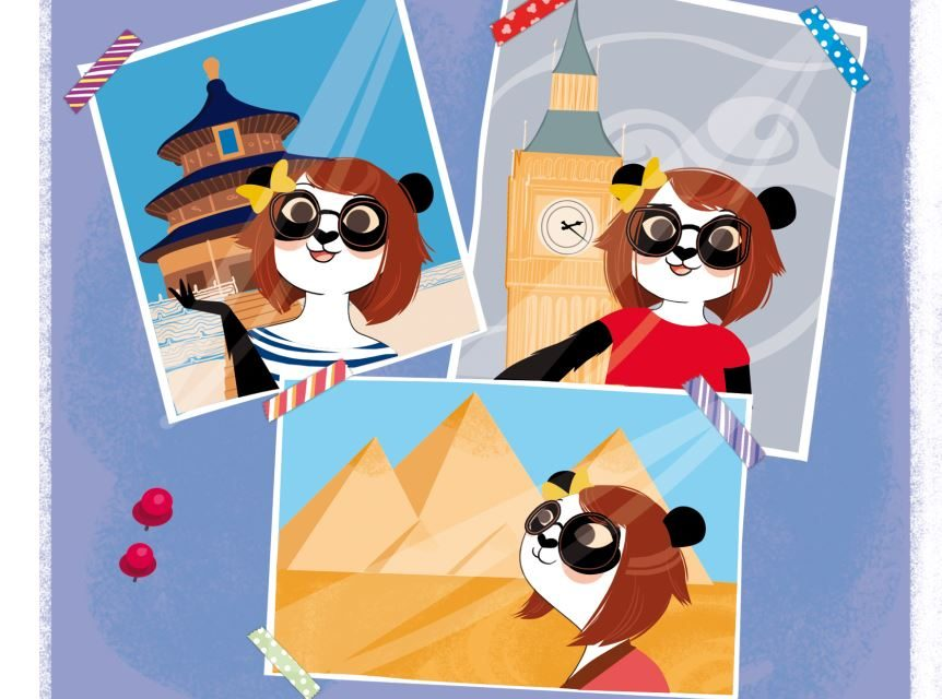 The Panda Family, des livres activités pour révéler le potentiel des enfants en expatriation