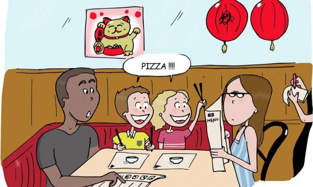 Famille expat «vacances en Asie», des dessins drôles à savourer
